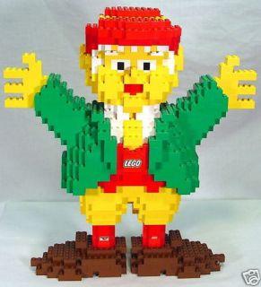 Life Size Lego Keebler Elf Promotion Store Display Vint