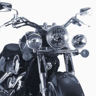 Chrome Light Bar Kawasaki VN1500N Vulcan Classic 2000