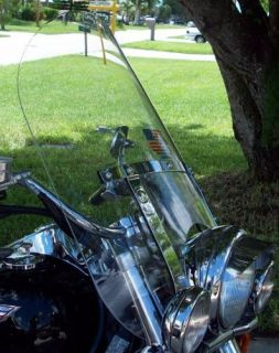 Kawasaki Vulcan 1500 Classic Carb 22 Tall 23 Wide Clear Windshield