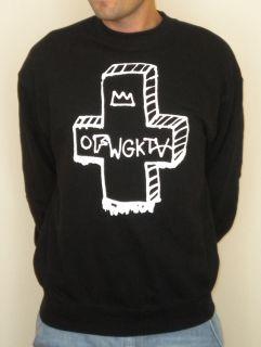 OFWGKTA Odd Future Wolf Gang Sweater Cross Design Tyler The Creator