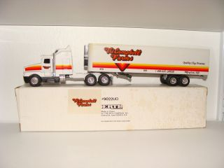 Ertl 1 64 Tri Campbell Farms Kenworth T600A Semi Tractor Trailer Truck