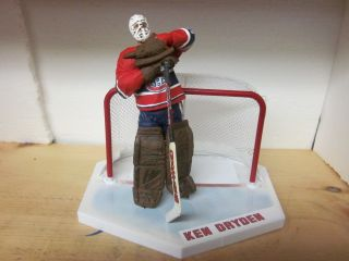 Ken Dryden Montreal Canadiens Custom McFarlane NHL Hockey Goalie