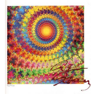 Ken Kesey Signed Acid Blotter Art Ltd Edition LSD