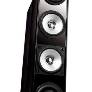 KEF Fivetwo Series MODEL11 Floor Standing Home Theater Speakers (Black