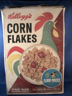 Kelloggs Corn Flakes Huck Hound Yogi Bear Box