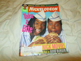 Magazine Issue 33 August 1997 Kenan Kel JTT Good Burger Travel