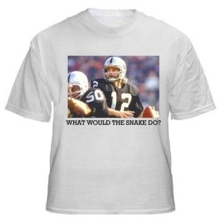 Ken Stabler WWD Shirt Raiders Jersey Retro Throwback