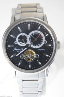 Kenneth Cole Watch Automatic KC3890 Black Dial Watch