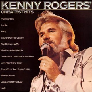 Kenny Rogers Greatest Hits Vinyl Record Album