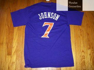 Suns Kevin Johnson Jersey T Shirt LG Phoenix Retro Purp