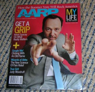 AARP Magazine Kevin Spacey New Sept Oct 2004 Bill Clinton Article Too