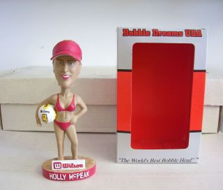 Holly McPeak Olympic Volleyball Player Bobble Bobblehead sponsored by