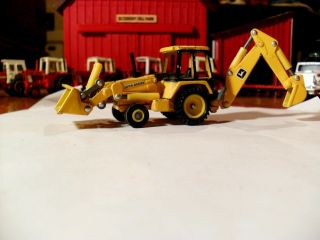 64 Ertl Farm Toy John Deere Tractor Back Hoe Construction