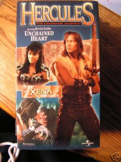 Hercules Unchained Heart Kevin Sorbo Xena Trilogy Vol 3