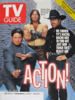 Chuck Norris Kevin Sorbo Sammo Hung 8 14 99 TV Guide
