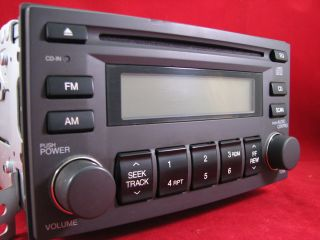 05 07 KIA RIO SPECTRA SORENTO OEM FACTORY AM FM CD PLAYER RADIO