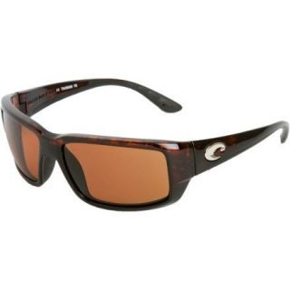 Costa Del Mar Sunglasses Fantail Tortoise Copper 580P New