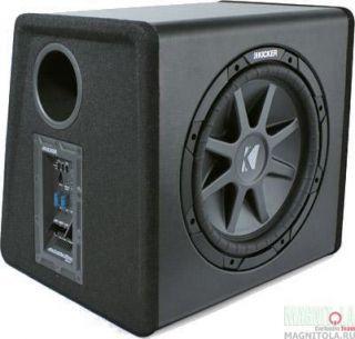 Kicker 12 Sub Station Powered Compvr Sub 400 Watt Amplifier cvr