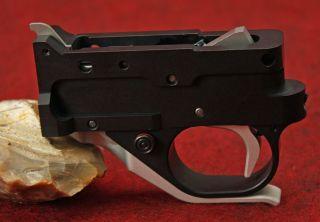 KIDD single stage 1022 trigger for Ruger 10 22 black silver silver