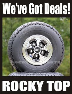Golf Cart Hub Caps Wheel Covers Keystone Chrome Black