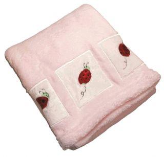 Kids Line Lady Bug Boa Blanket