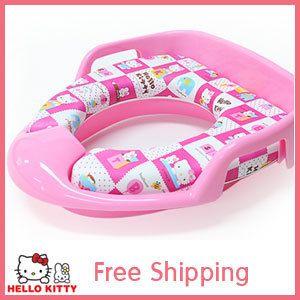 Hello Kitty Baby Kids Toilet Training Potty Seat Soft