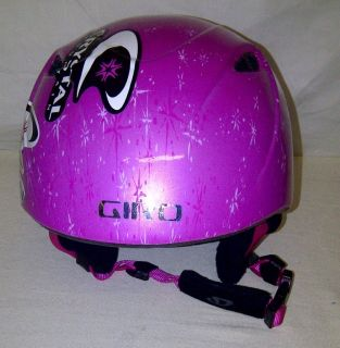 Giro Slingback Girls Youth Kids Pink Snowboard Ski Helmet Size XS s