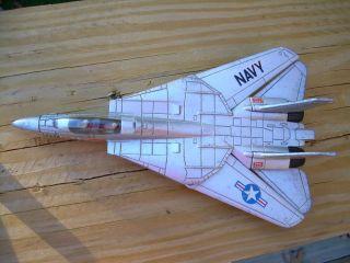 Ertl USA Navy Die Cast Kids Toy Jet Plane USS Enterprise 0457s