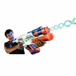 Nerf Super Soaker ornado Srike Waer Gun Figh Kids oy Play Summer