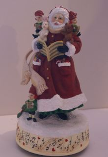 PIPKA RETIRED WE WISH YOU A MERRY CHRISTMAS LTD EDITION SANTA BRAND