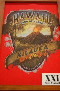 New Hawaii T Shirt Kilauea Volcano Big Island Aloha XL