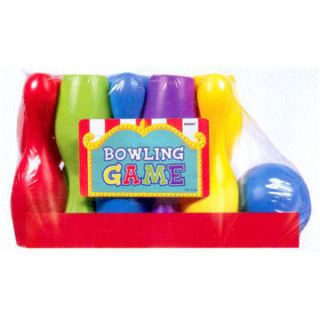 Kids Birthday Party Bowling Pins Ball Game New