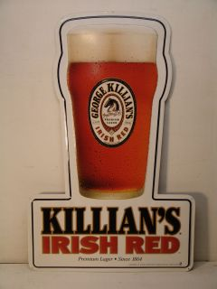 Killians Irish Red Beer Metal Sign