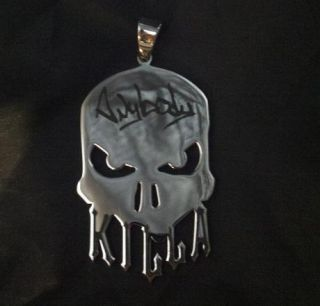 Large abk Charm Anybody Killa Pendant ICP Hatchetman Hatchet Man