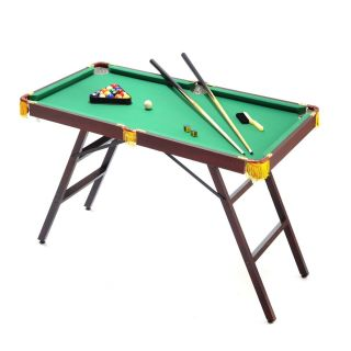 Voit 48 Mini Pool Table Billiards with Accessories Game Kids Arcade