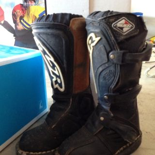 Youth MX Motorcross Dirt Bike Boots MSR Size 11