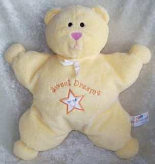 KIDS PREFERRED Yellow STAR Soft SWEET DREAMS Baby TEDDY BEAR Plush Toy