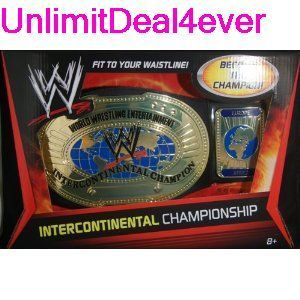 WWE Intercontinental Championship Title Belt Toy