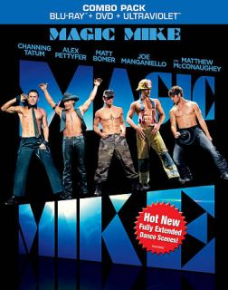Magic Mike Blu Ray 2012 Channing Tatum Matthew McConaughey