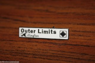 Ski Pin Badge Skiing Outer Limits Killington Vermont