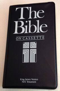 King James Version (KJV) Bible New Testament (NT) on Audio Cassette by