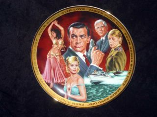 Franklin Mint JAMES BOND 007 FROM RUSSIA WITH LOVE Collector Plate