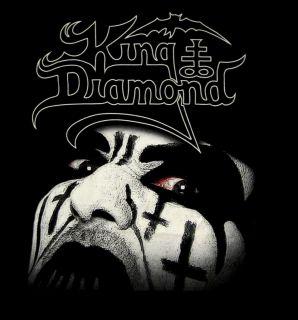 King Diamond CD lgo Face Official Shirt XL New Mercyful Fate