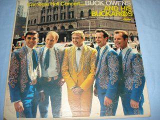 Buck Owens The Buckaroos 1966 Carnegie Hall Concert 12 Capitol T 2556