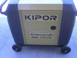 Kipor 3500 Watt Generator Super Quiet