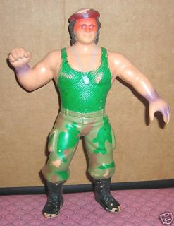 1988 WWF LJN Corporal Kirchner Wrestling Action Figure