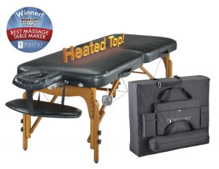 Master Massage Ultima King Size 31 Heated Portable Massage Table w