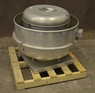 VCRH 150VH6B 3 4HP Centrifugal Roof Exhaust Fan Restaurant Kitchen 3 4