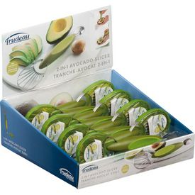 New Trudeau Avocado Slicer Pitter 2 in 1 Stainless Steel Kitchen