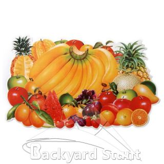 NEW Assorted Fruits Wall Sticker Decor Kitchen Design decoration Home
